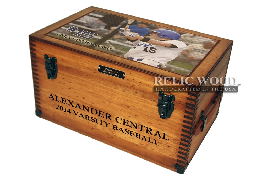 baseball keepsake box gift 139 00 the custom baseball keepsake box ...